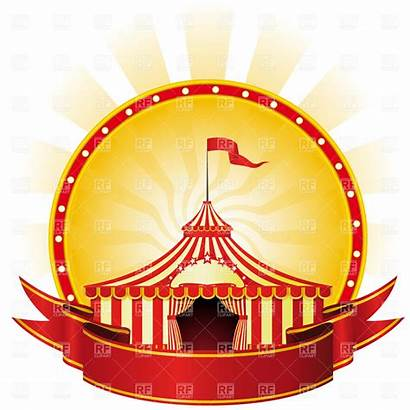 Circus Banner Cliparts Banners Clipart Poster Advertising