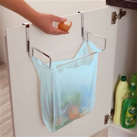 porte poubelle cuisine le support de porte pour sac poubelle décoration cuisine