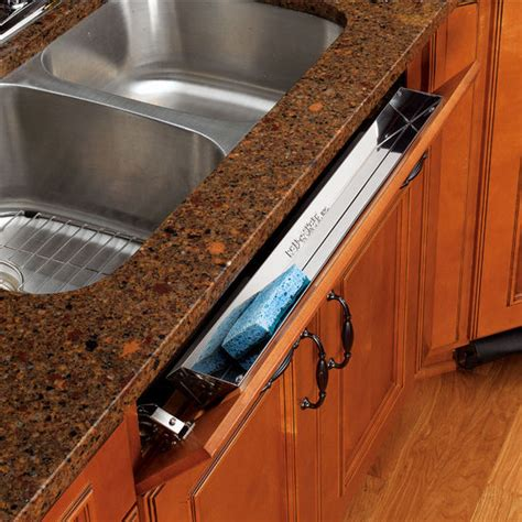 sink front tip out tray kitchen and vanity sink front tip out stainless steel