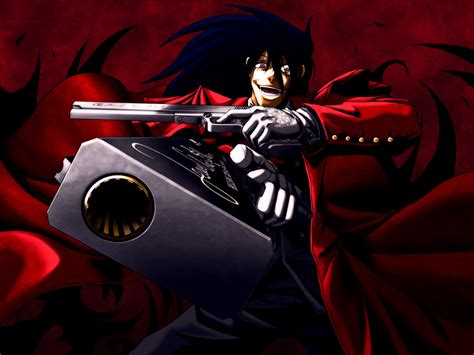animecheck hellsing hellsing ヘルシング on hellsing alucard anime and