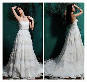 China layered beaded lace wedding dress china wedding for Layered lace wedding dress