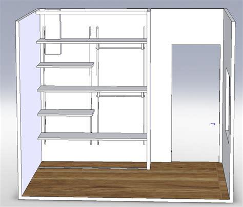 amenagement sous sol en chambre projet 3d aménagement placard karkace