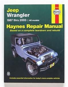 Jeep Wrangler Jk Repair Manual Pdf