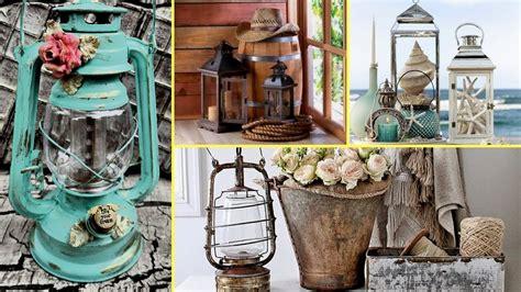 Home Decor Lanterns : Diy Rustic & Shabby Chic Candle Lantern Decor Ideas-home