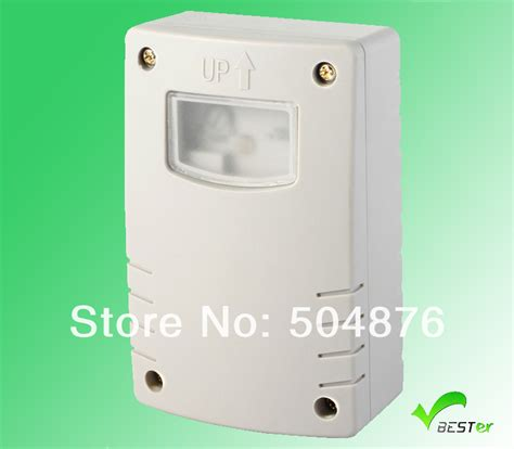 auto outdoor ip44 photocell light sensor switch with timer