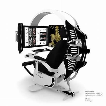 Workstation Emperor Chair Gaming Computer Ergonomic Desk