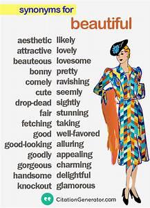 English Grammar... Beautiful Synonyms