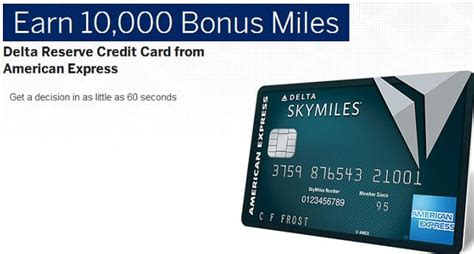 The reserve card would only earn 3x skymiles on delta flights. Delta Reserve Credit Card From American Express Review