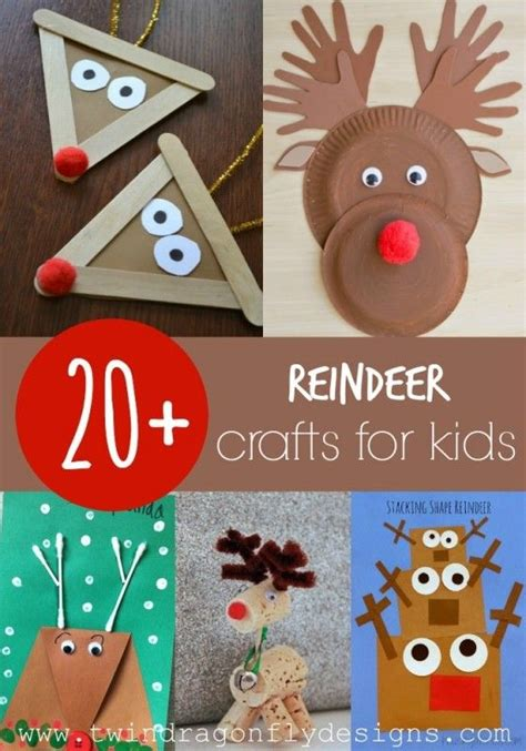 20 reindeer crafts for kindergartenklub 298 | 0d04cf8b1a852864fe8e8e8a305506a7