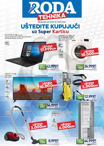 Roda Katalog Akcija Tehnika Super Kartica 04.03. - 31.03 ...