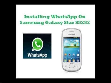 whatsapp for samsung setmetr