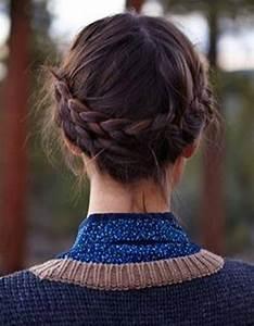 Coiffure Pour Cheveux Mi Longs : coiffures faciles simples et rapides pour cheveux mi longs coiffure simple et facile ~ Melissatoandfro.com Idées de Décoration