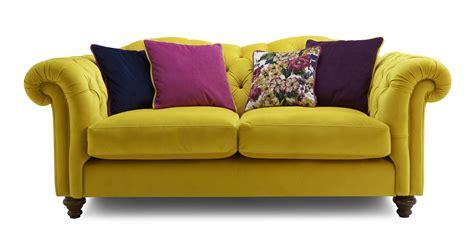 Velvet Sofa by Velvet 3 Seater Sofa Velvet Dfs