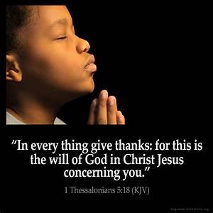 1 Thessalonians 5:18 Inspirational Image