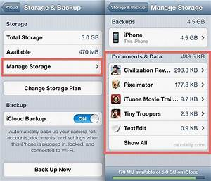 view delete icloud documents from the iphone ipad With how do i store documents in icloud