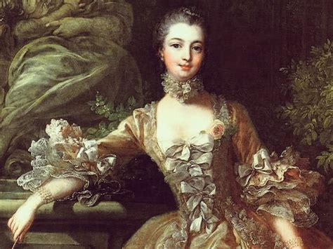 portrait of marquise de pompadour letters and lunches from the loire