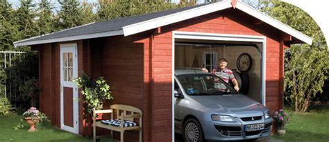 Holzgaragen  Kaufen Im Holzhausde Gartenbaumarkt