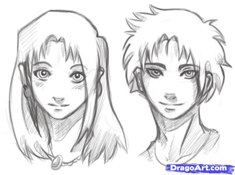 See more ideas about boys long hairstyles, boy hairstyles, boys haircuts. How to Draw Manga Heads, Step by Step, Anime Heads, Anime ...