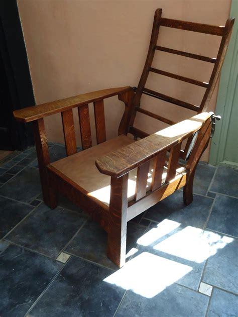 vintage recliner chair fabulous arts crafts oak reclining chair antiques atlas 3252