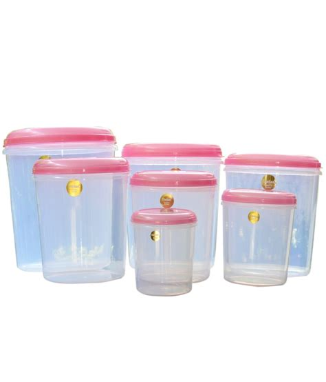 Plastic Kitchen Storage Boxes With Lids