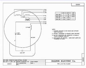 5 Hp Baldor Capacitor Wiring Diagram