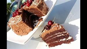 Recette Gateau Anniversaire Garçon : recette de gateau d 39 anniversaire au chocolat chocolate birthday cake sousoukitchen youtube ~ Dode.kayakingforconservation.com Idées de Décoration