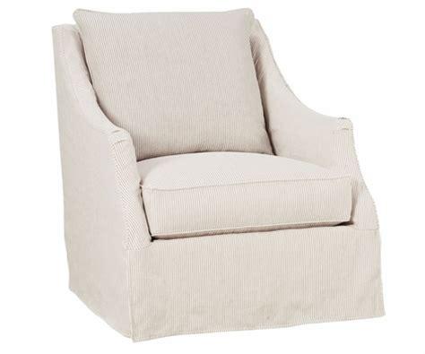 giuliana quot designer style quot swivel slipcover chair
