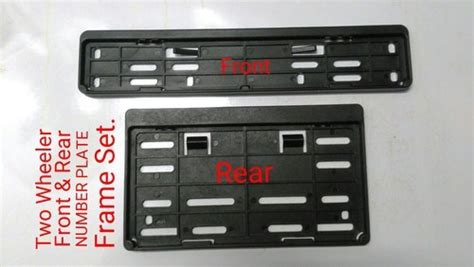 Car Number Plate Holder & 2 X Abt Tuning Number Plate