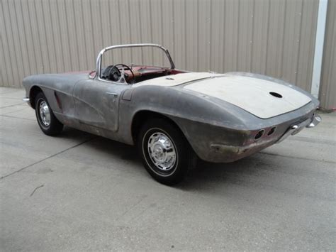 how does cars work 1962 chevrolet corvette electronic throttle control 1962 corvette restoration project c1 hot rod needs work c1 ncrs 1961 1960 1959 for sale