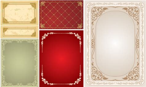 6 Victorian Lace Frame Vector Borders Premium Visiting Cards Online India Print Your Own Business Birmingham Uk Buy Canada Get Painting Samples Design Free Limo