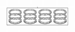 Toyota Camry Engine Piston Ring  Std  Single  Set