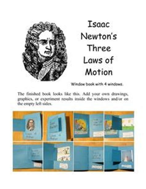 isaac newton curriculum vitae isaac newton s three laws of motion 6th 9th grade printables template lesson planet