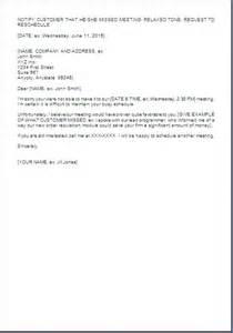 Meeting Reminder Letter Sample