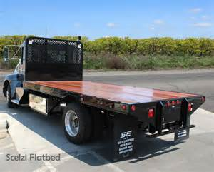 flatbed beds scelzi flatbed truck bodies