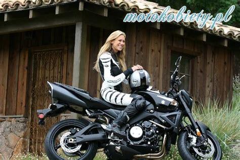 Kobieta Motocykl