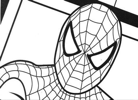 Spiderman Coloring Page - Sanfranciscolife