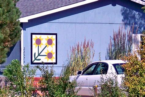 morgan county barn quilts  colorado