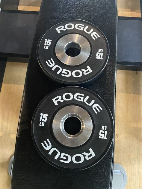 offerup dumbbell fitness rogue