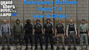 GTA 5 LSPDFR Police Mod Showcase | Emergency Uniform Pack ...