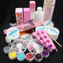 Pics photos acrylic nail art step kit