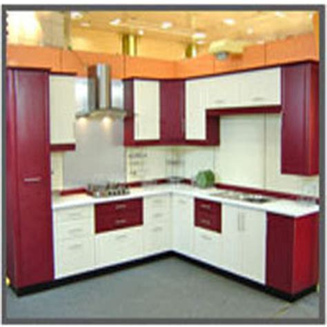 Kitchen Uv L by L Shaped Attractive Modular Kitchen In Nit Faridabad