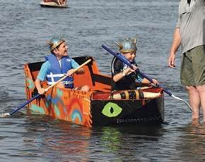 Cardboard Boat Races Englewood Florida by Welcome Back Snowbirds Englewood Review Newspaper