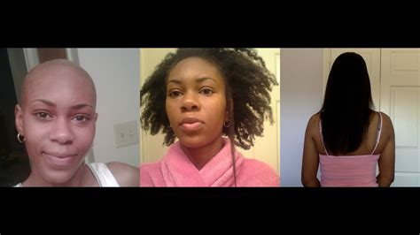 hair natural  relaxed journey youtube