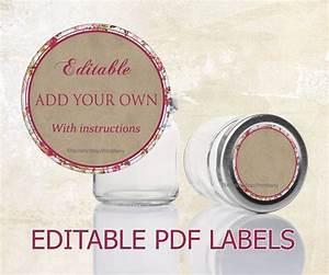 mason jar labels editable labels for mason jars editable With pdf document jar