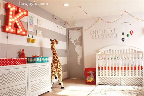 Colorful Circus Gender Neutral Nursery