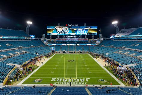 · parking lots will typically open four (4) hours before commencement of the event (kickoff for jaguars home games) and will close two (2) hours after the end of each game or event at tiaa bank field (the stadium). Jaguars Sell Out Additional Playoff Tickets In 5 Minutes   WJCT NEWS
