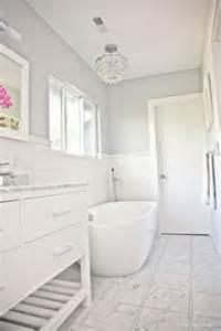 benjamin moore sidewalk gray in a bathroom with marble