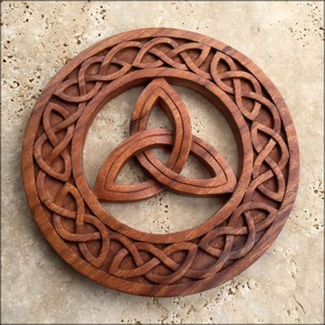 CK-16 Celtic Knot - Triquetra in Circle - Celtic, Viking ...