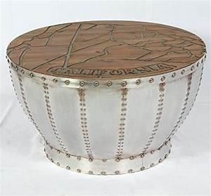 Tisch Retro Design : vintage couchtisch industrie used design tisch retro kaffeetisch rund loft m bel 508 m bel24 ~ Markanthonyermac.com Haus und Dekorationen
