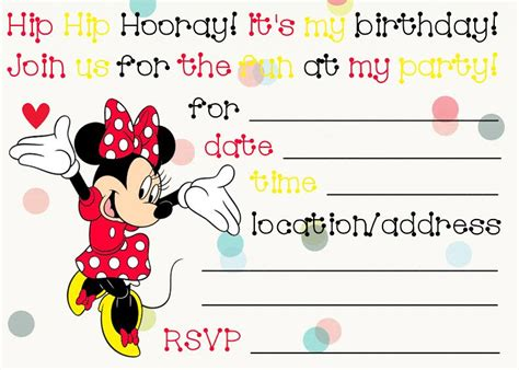 superb minnie mouse birthday invitations kittybabylovecom